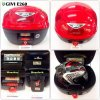 Givi - Box E260 Red W/Light